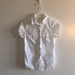 H&M White Button Up